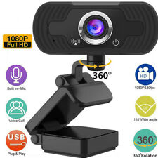 New listing 1080P Hd Usb Webcam For Pc Desktop Video Call Laptop Web Camera With Microphone