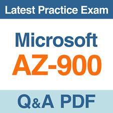 Microsoft Azure AZ-900 Real Exam Questions & Answers 2020 - PDF