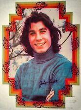 70s John Travolta Saturday Night Fever signature grease auto VTG t-shirt iron-on
