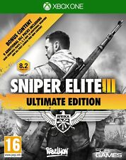 Sniper Elite III 3-Ultimate Edition | Xbox One nouveau