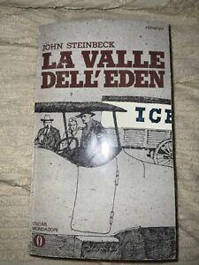 LA VALLE DELL'EDEN Steinbeck 1971 OSCAR MONDADORI