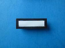 Klingeltaster, Kombitaster Renz, Lira 85116 weiss, braun oder schwarz, 65x22 mm