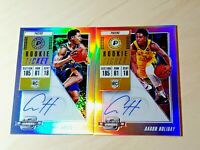 Aaron Holiday 2018-19 Panini Contenders Optic Rookie TIcket Auto Silver Prizm RC