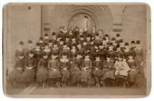 1882 Women's College Class Cabinet Photo