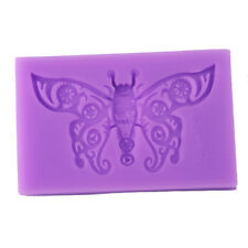 3D Butterfly Silicone Cake Molds Baby Birthday Fondant Cake Decorating Bake Tool