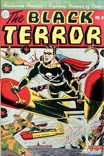 Black Terror #6 Photocopy Comic Book