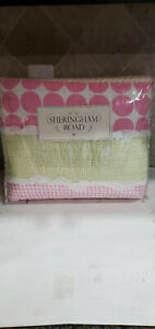 Sheringham Road Maddie Twin Cotton Quilt Set - Pink, Pink, Green, Patch