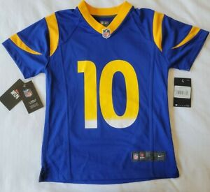 New Nike Cooper Kupp Los Angeles LA Rams Jersey Size Youth Small FREE SHIPPING!
