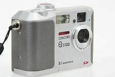 Concord Eye Q 3103 Digital Compact Camera 3,1mp with 3x Dig. Zoom ccc0006326
