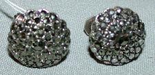 . Vintage Sterling Silver Sterling NBS Marcasite Earrings Set