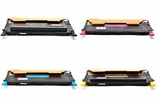 For SAMSUNG 4 TONERS CARTRIDGE SET CLP320 CLP325 CLX 3180 3185 3185FN 3185FW