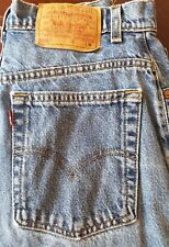 VTG USA Levis 550 Relaxed Tapered High Rise MOM Jeans 10 Reg (30x31) med wash