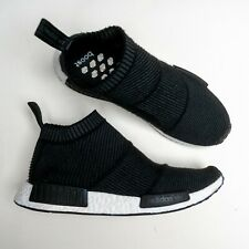 Adidas Men's Shoes NMD City Sock Winter Wool Collection Black/White Size US 9