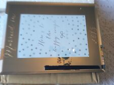 Mirrored Glass Frame - Married In 2015 - Set Of 2 - New