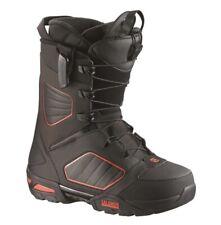 Salomon Synapse Snowboard Boots 2015 UK 9.5 EU 44 US 10 28cm Black Brown Red