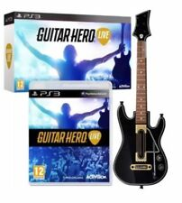Guitar Hero Live Bundle Sony PS3 Playstation 3 (Video Game, Guitar, Accessories)
