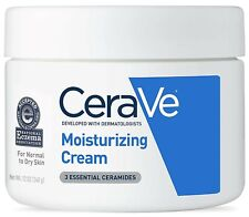 New CeraVe Face and Body Moisturizing Cream for Normal to Dry Skin, 12 oz