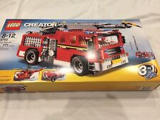 Sealed LEGO Creator Fire Rescue 6752 Fire Truck Helicopter Free Ship