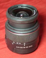 Sony 18-55 f3.5-5.6 Sam A-Mount Dslr Digital Camera Zoom Lens