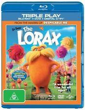 Dr. Seuss' The Lorax (Blu-ray, 2012, 2-Disc Set)