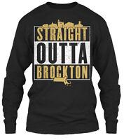 Straight Outta Brockton - Gildan Long Sleeve Tee T-Shirt