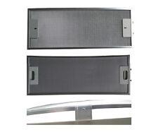 Metallfettfilter für Dunstabzug WHIRLPOOL ALUMINIUM  486 x 188 mm gebogen