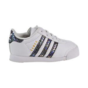 Adidas Samoa Snake Toddlers Shoes Footwear White- Core Black bw1301