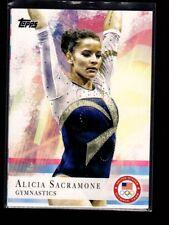 ALICIA SACRAMONE - 2012 OLYMPICS GYMNASTICS -  TOPPS #11