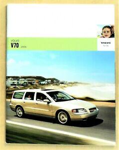 "ORIGINAL 2006 VOLVO V70 PRESTIGE SALES BROCHURE ~ 46 PAGES ~ 11"" X 8.5"" ~ 6V7"