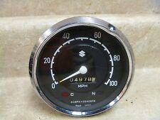 Suzuki S32 150 T200 X5 Used Speedometer Vintage 1968 #MT809
