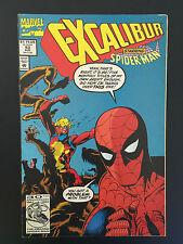 Box 10c, Marvel Comic, Excalibur, # 53 Aug Starring Spider-man