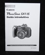 Canon Power Shot SX1 IS - Italian Camera User Manual