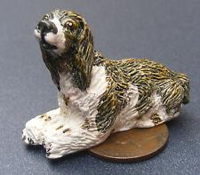 1:12 scala casa delle bambole nero, marrone e bianco, che da giardino per cane per Animale Domestico Accessorio LP23