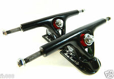 Paris 180mm V2 Longboard Skateboard Trucks Black