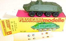 SPW 60 PB PLASTICART modelli (DANN Espewe) DDR NVA VEB zinco conf. orig. H0 #