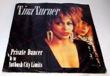 Tina Turner Private Dancer 1983 Capitol 5433 R&B Rock 45rpm Vinyl PS Near Mint