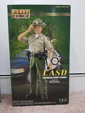 """New 1/6 Elite Force BBI 12""""  LASD Officer Burns Sheriff Deputy Figure"""