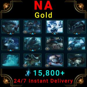 NA Gold League of Legends Account LoL Acc | Count Kledula TPA Ezreal Frozen Shen