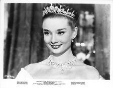 Roman Holiday 8x10 publicity photo smiling Audrey Hepburn portrait