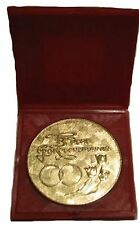 """✔ ✔ ✔ Medal """"On the day of the wedding I wish you happiness!"""" USSR 1965 gilded"""