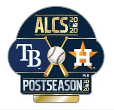 2020 AMERICAN LEAGUE CHAMPIONSHIP SERIES ALCS PIN HOUSTON ASTROS TAMPA BAY RAYS