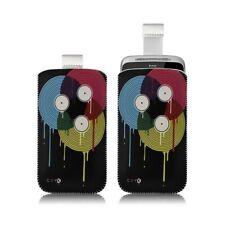 Housse coque étui pochette pour HTC ChaCha avec motif LM08