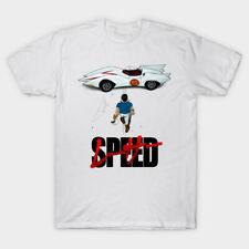 Speed Racer Men White Tshirt Size S-2Xl