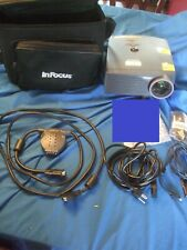 Infocus Lp435z Dlp Projector - 900 Lumens - W/ Accessories/Cables/ No Remote