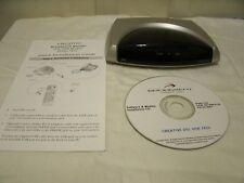 Used Creative Blaster DSL USB Modem DE7410  PN # 245-07410-10 W/ Guide & CD.