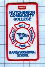 Fire Patch - HUTCHINSON COMMUNITY COLLEGE NAME TAG
