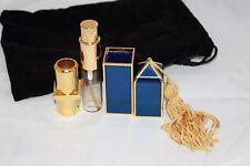 FABERGE REFILLABLE PURSE SPRAY 5 ML 0.2 OZ BLUE & GOLD PARFUME PERFUME *EMPTY