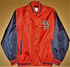 ST. LOUIS CARDINALS RED WINDBREAKER - SIZE MEDIUM