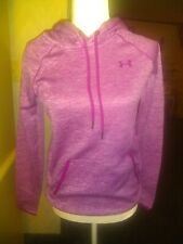 Women's Under Armor Cold Gear Hoodie. XS Pink