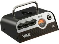 VOX mv50 AC Mini Guitar Amplifier.  Includes Free Vox VGS-30 Instrument Cable!